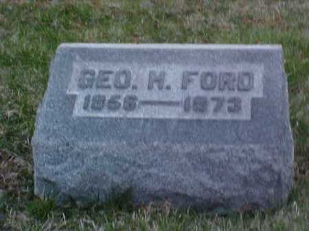 FORD, GEORGE H. - Fayette County, Ohio | GEORGE H. FORD - Ohio Gravestone Photos