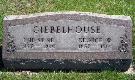 GIEBELHOUSE, GEORGE W. - Fayette County, Ohio | GEORGE W. GIEBELHOUSE - Ohio Gravestone Photos