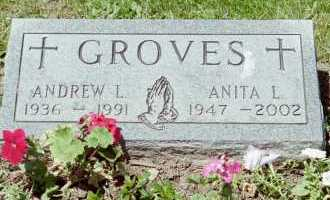 GROVES, ANDREW L - Fayette County, Ohio | ANDREW L GROVES - Ohio Gravestone Photos