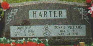 HARTER, DAVID E - Fayette County, Ohio | DAVID E HARTER - Ohio Gravestone Photos