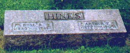 HINES, ROSE B - Fayette County, Ohio | ROSE B HINES - Ohio Gravestone Photos