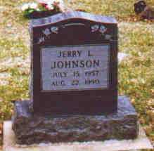 JOHNSON, JERRY L - Fayette County, Ohio | JERRY L JOHNSON - Ohio Gravestone Photos
