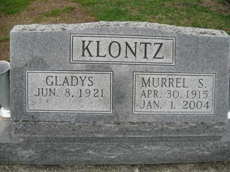 SHARP KLONTZ, GLADYS - Fayette County, Ohio | GLADYS SHARP KLONTZ - Ohio Gravestone Photos