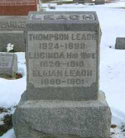 HODGE LEACH, LUCINDA - Fayette County, Ohio | LUCINDA HODGE LEACH - Ohio Gravestone Photos