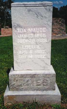 LIMES, IDA MAUDE - Fayette County, Ohio | IDA MAUDE LIMES - Ohio Gravestone Photos