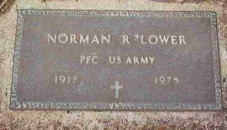 LOWER, NORMAN R - Fayette County, Ohio | NORMAN R LOWER - Ohio Gravestone Photos