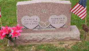 LOWER, JUANITA R - Fayette County, Ohio | JUANITA R LOWER - Ohio Gravestone Photos