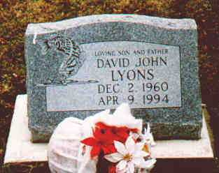LYONS, DAVID J - Fayette County, Ohio | DAVID J LYONS - Ohio Gravestone Photos