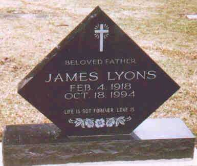 LYONS, JAMES - Fayette County, Ohio | JAMES LYONS - Ohio Gravestone Photos