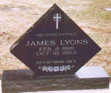 LYONS, JAMES - Fayette County, Ohio   JAMES LYONS - Ohio Gravestone Photos