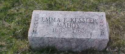 MAHOY, EMMA F. - Fayette County, Ohio | EMMA F. MAHOY - Ohio Gravestone Photos