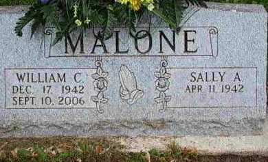 MALONE, SALLY A - Fayette County, Ohio | SALLY A MALONE - Ohio Gravestone Photos