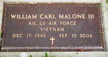 MALONE, WILLIAM C - Fayette County, Ohio | WILLIAM C MALONE - Ohio Gravestone Photos
