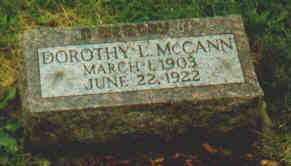 MCCANN, DOROTHY L - Fayette County, Ohio | DOROTHY L MCCANN - Ohio Gravestone Photos