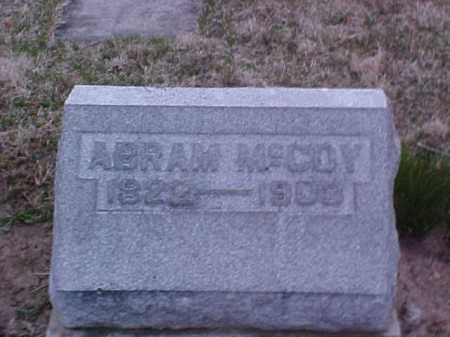 MCCOY, ABRAM - Fayette County, Ohio | ABRAM MCCOY - Ohio Gravestone Photos