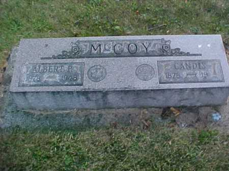 MCCOY, ALBERT P. - Fayette County, Ohio | ALBERT P. MCCOY - Ohio Gravestone Photos