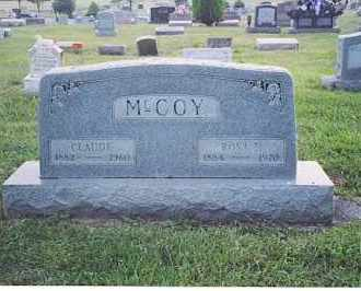 MCCOY, CLAUDE - Fayette County, Ohio | CLAUDE MCCOY - Ohio Gravestone Photos