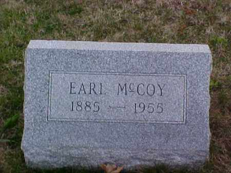 MCCOY, EARL - Fayette County, Ohio | EARL MCCOY - Ohio Gravestone Photos