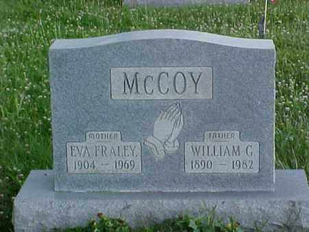 MCCOY, EVA - Fayette County, Ohio | EVA MCCOY - Ohio Gravestone Photos