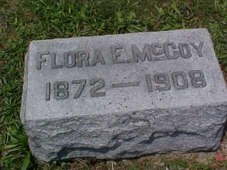 MCCOY, FLORA E. - Fayette County, Ohio | FLORA E. MCCOY - Ohio Gravestone Photos