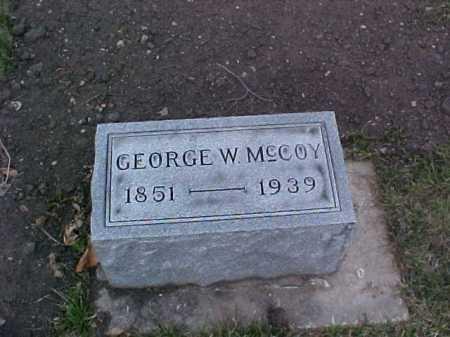 MCCOY, GEORGE W. - Fayette County, Ohio   GEORGE W. MCCOY - Ohio Gravestone Photos