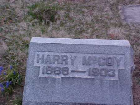 MCCOY, HARRY - Fayette County, Ohio | HARRY MCCOY - Ohio Gravestone Photos