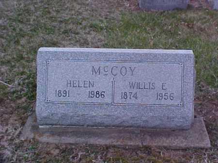 MCCOY, WILLIS E. - Fayette County, Ohio | WILLIS E. MCCOY - Ohio Gravestone Photos