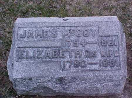 MCCOY, ELIZABETH - Fayette County, Ohio | ELIZABETH MCCOY - Ohio Gravestone Photos