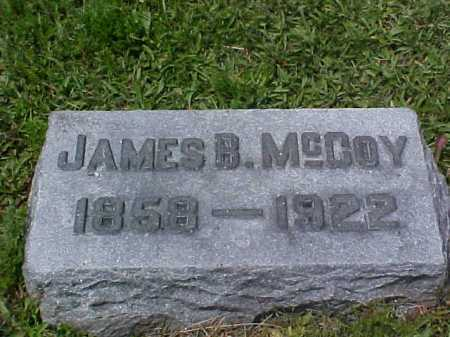 MCCOY, JAMES B. - Fayette County, Ohio | JAMES B. MCCOY - Ohio Gravestone Photos