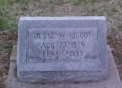 MCCOY, JESSE W. - Fayette County, Ohio | JESSE W. MCCOY - Ohio Gravestone Photos