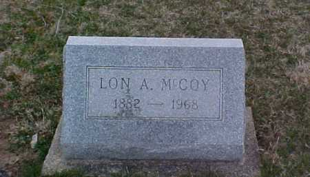 MCCOY, LON A. - Fayette County, Ohio | LON A. MCCOY - Ohio Gravestone Photos