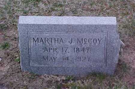 MCCOY, MARTHA J. - Fayette County, Ohio | MARTHA J. MCCOY - Ohio Gravestone Photos