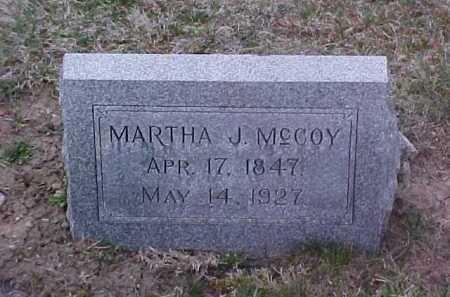 MCCOY, MARTHA J. - Fayette County, Ohio   MARTHA J. MCCOY - Ohio Gravestone Photos