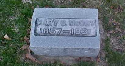 MCCOY, MARY C. - Fayette County, Ohio | MARY C. MCCOY - Ohio Gravestone Photos