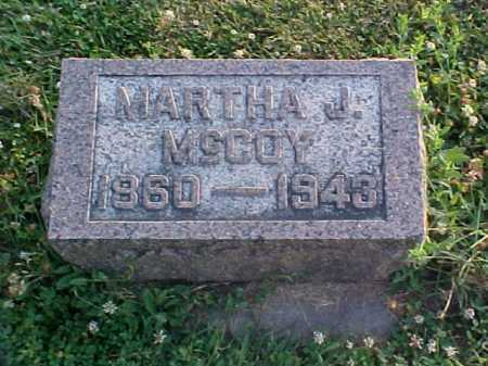 MCCOY, MARTHA J - Fayette County, Ohio | MARTHA J MCCOY - Ohio Gravestone Photos