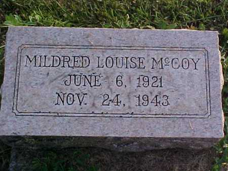 MCCOY, MILDRED L - Fayette County, Ohio | MILDRED L MCCOY - Ohio Gravestone Photos