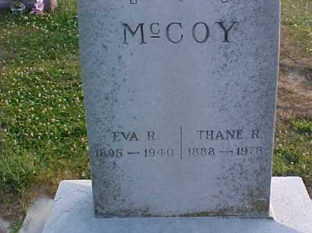 MCCOY, EVA R - Fayette County, Ohio | EVA R MCCOY - Ohio Gravestone Photos