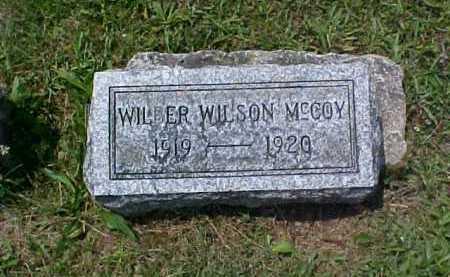 MCCOY, WILBER WILSON - Fayette County, Ohio | WILBER WILSON MCCOY - Ohio Gravestone Photos