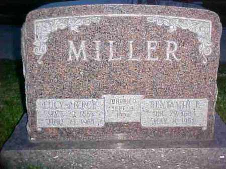 PIERCE MILLER, LUCY - Fayette County, Ohio | LUCY PIERCE MILLER - Ohio Gravestone Photos