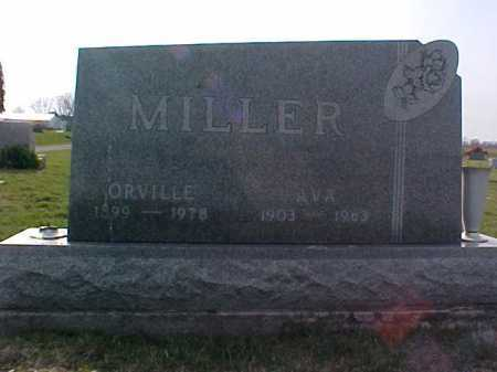 MILLER, AVA - Fayette County, Ohio | AVA MILLER - Ohio Gravestone Photos