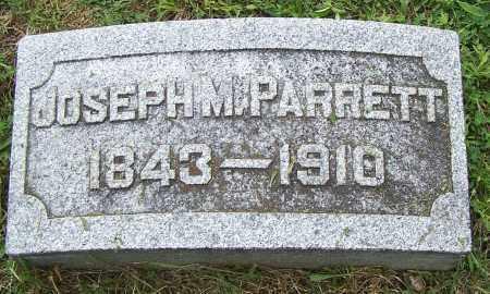 PARRETT, JOSEPH M - Fayette County, Ohio | JOSEPH M PARRETT - Ohio Gravestone Photos