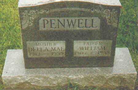 PENWELL, DELLA MAE - Fayette County, Ohio | DELLA MAE PENWELL - Ohio Gravestone Photos