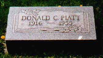 PIATT, DONALD C - Fayette County, Ohio | DONALD C PIATT - Ohio Gravestone Photos