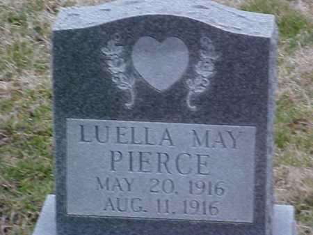 PIERCE, LOUELLA MAY - Fayette County, Ohio | LOUELLA MAY PIERCE - Ohio Gravestone Photos