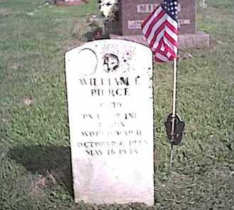 PIERCE, WILLIAM C. - Fayette County, Ohio | WILLIAM C. PIERCE - Ohio Gravestone Photos