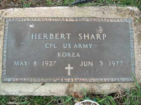 SHARP, HERBERT - Fayette County, Ohio | HERBERT SHARP - Ohio Gravestone Photos