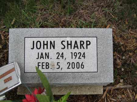 SHARP, JOHN - Fayette County, Ohio | JOHN SHARP - Ohio Gravestone Photos