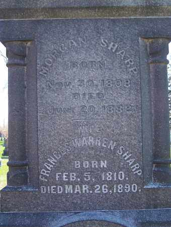 SHARP, MORGAN - Fayette County, Ohio | MORGAN SHARP - Ohio Gravestone Photos