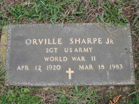 SHARP, ORVILLE JR  (SAM) - Fayette County, Ohio | ORVILLE JR  (SAM) SHARP - Ohio Gravestone Photos