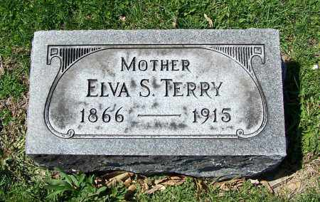 TERRY, ELVA S. - Fayette County, Ohio | ELVA S. TERRY - Ohio Gravestone Photos